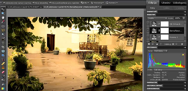 kurs wideo online adobe photoshop elements 10 pl